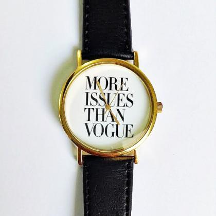 More Issues Than Vogue Watch, Vinta..