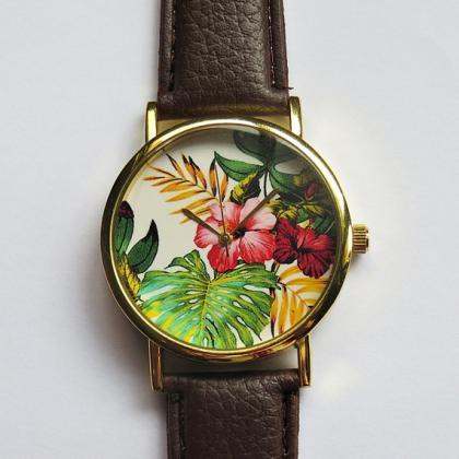 Tropical Floral Watch , Hibiscus Fl..
