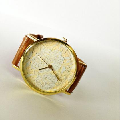 Vintage Lace Watch , Vintage Style ..